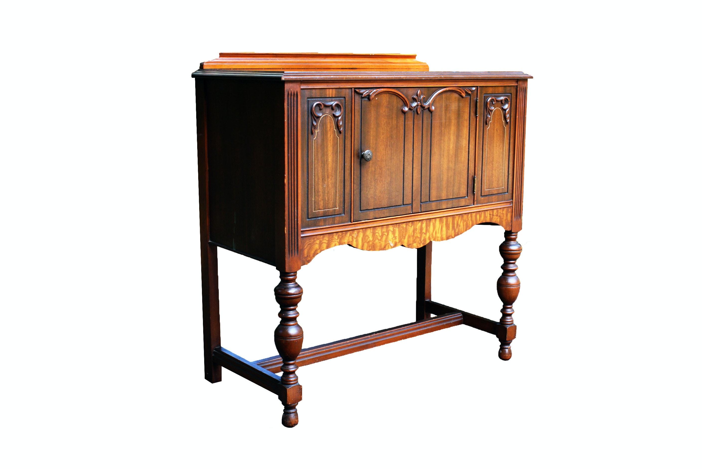 Art Nouveau Small Sideboard Cabinet
