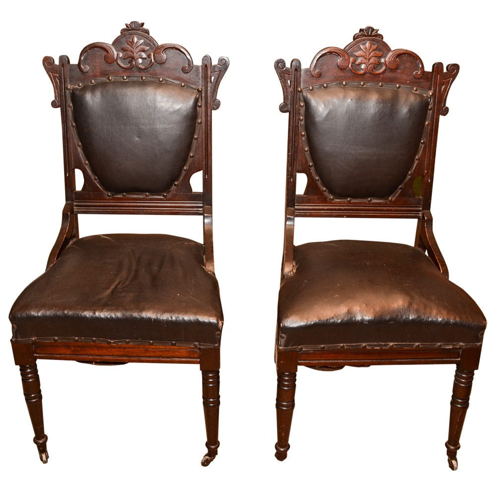 Vintage Wooden Chairs