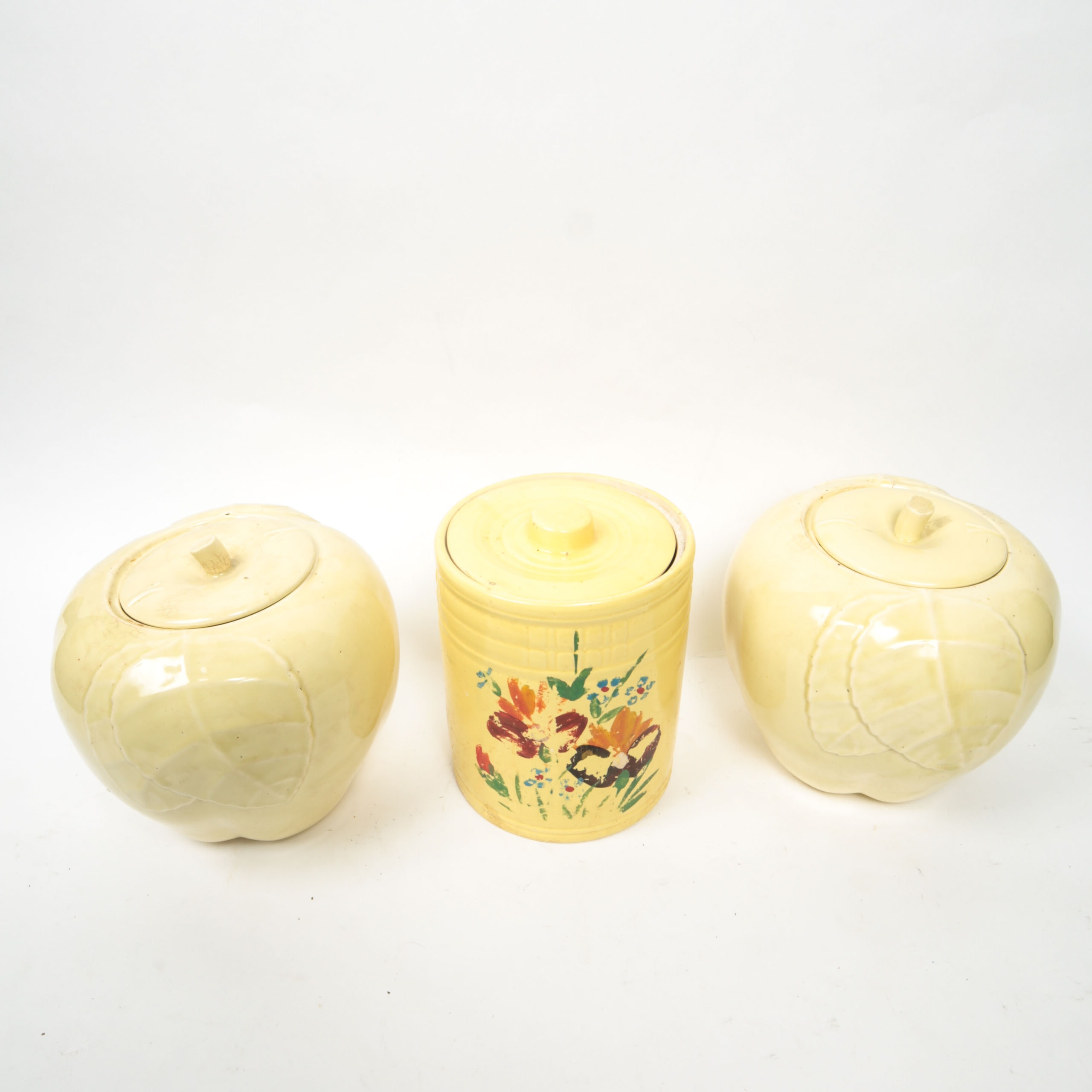 Group of Vintage Ceramic Canisters