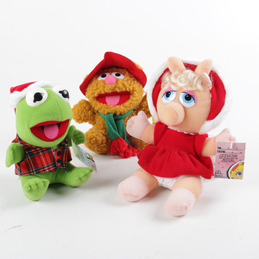 Collection of McDonald s Muppets Stuffed Toys   EBTH f3207ef1cf1c