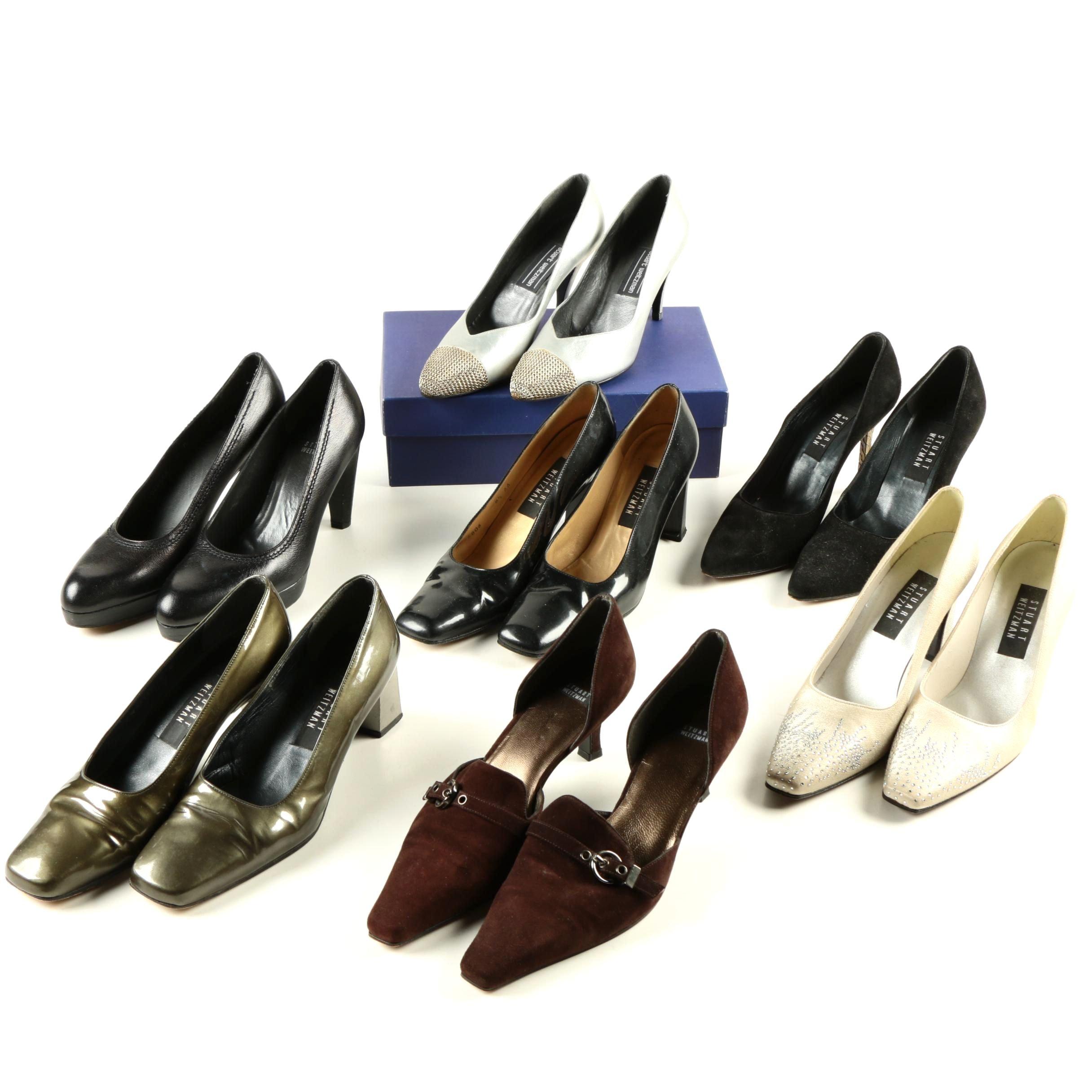 Collection of Stuart Weitzman Shoes
