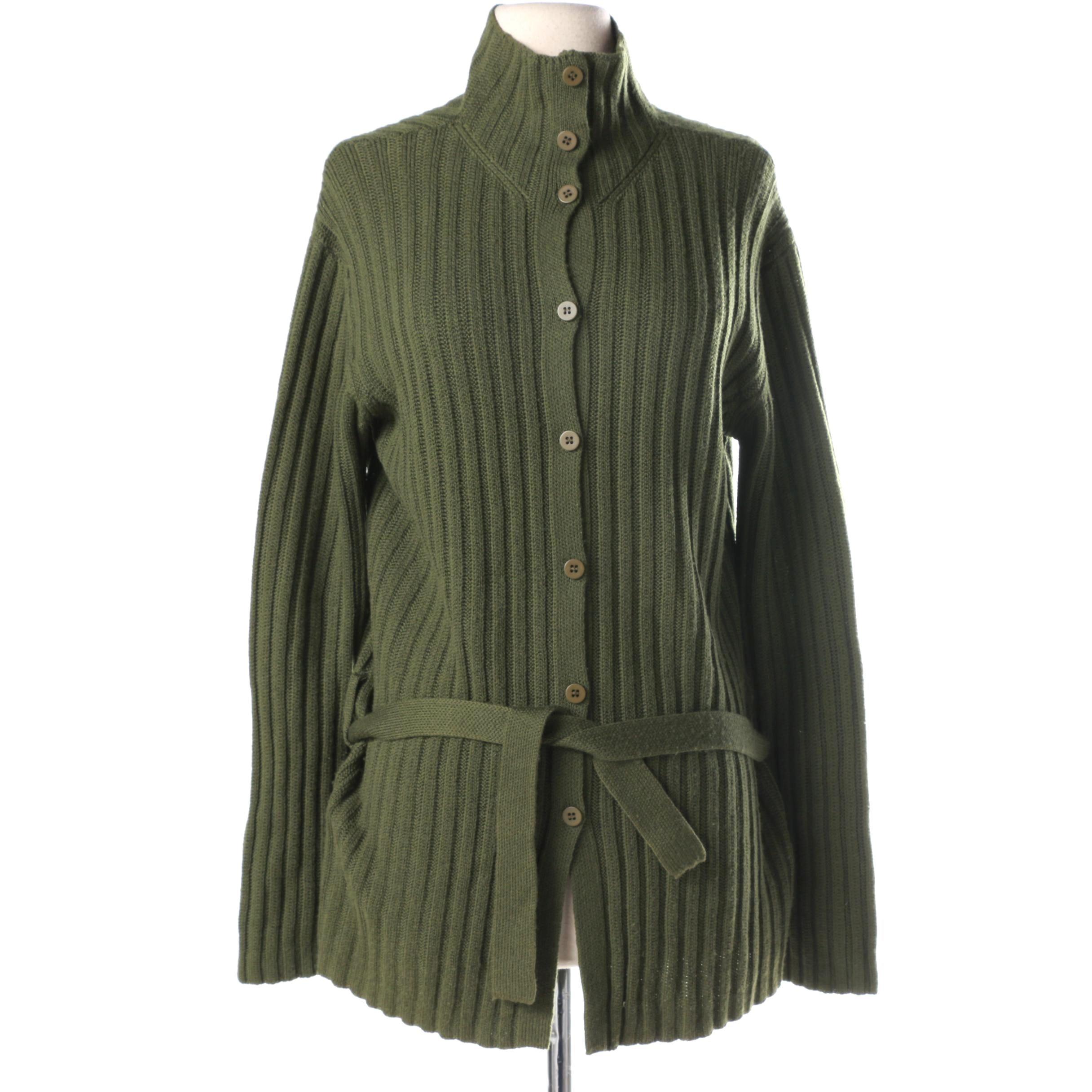 Armani Collezioni Women's Merino Wool Cardigan