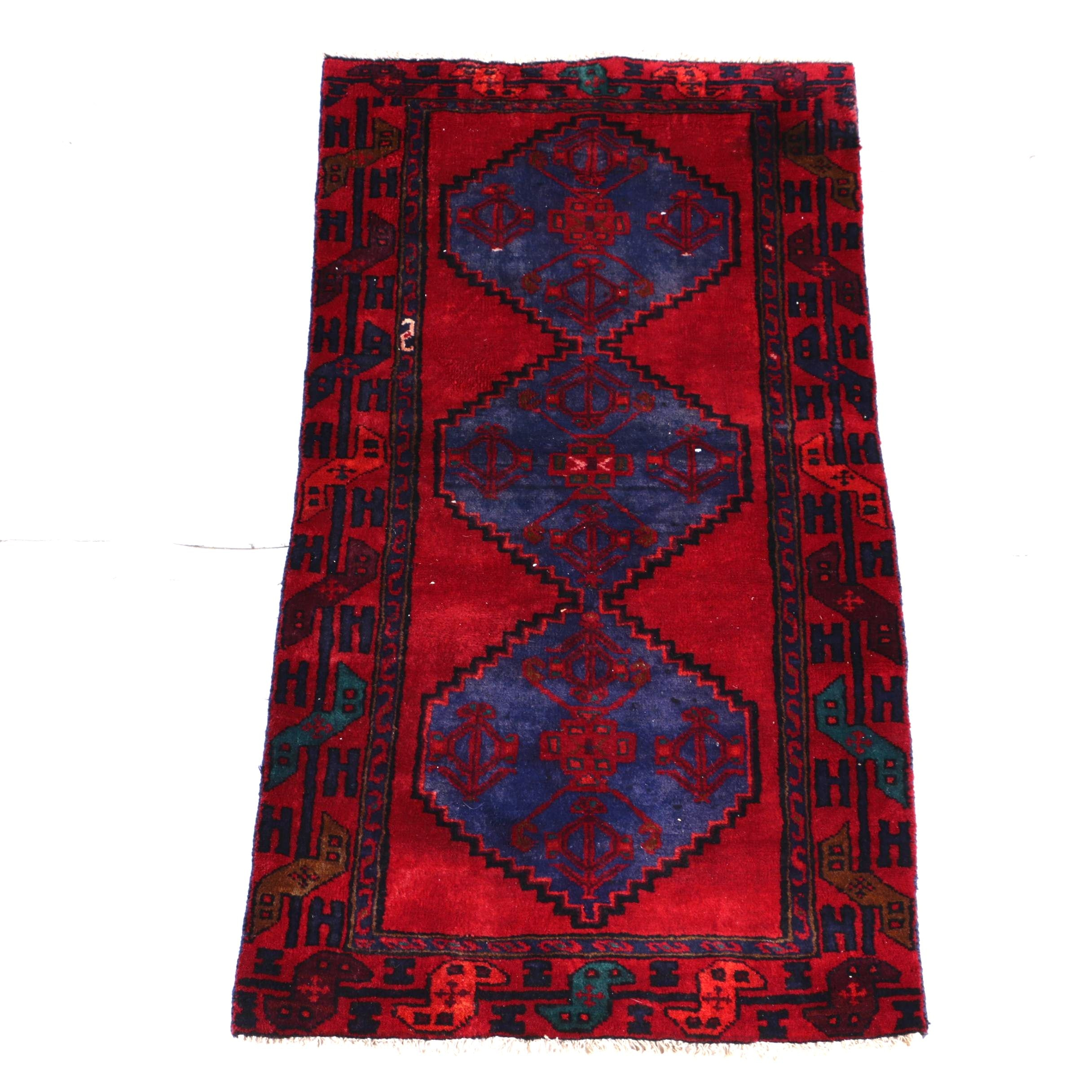 Hand-Knotted Northwest Persian Tribal Area Rug