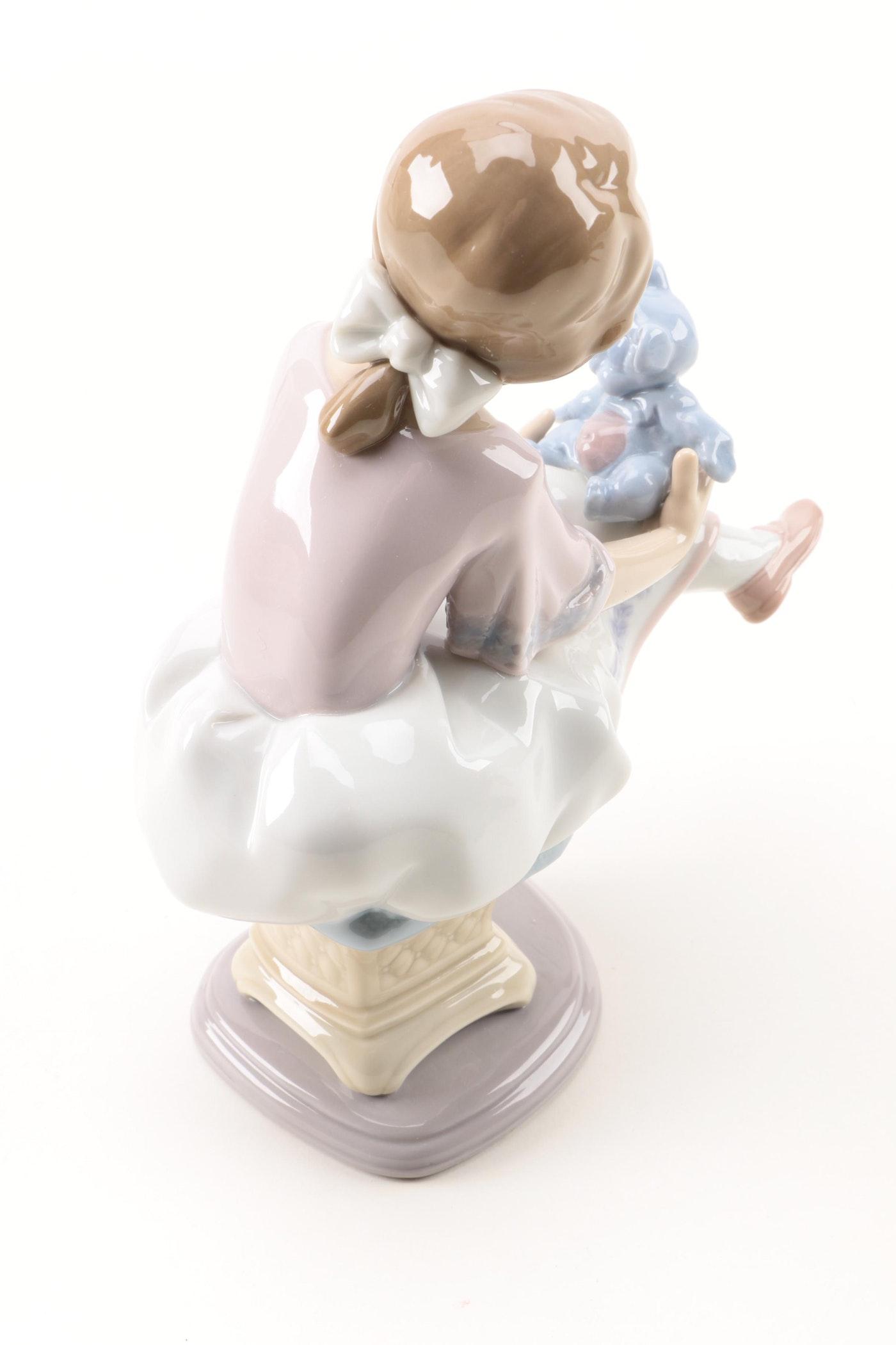 Lladr best friend figurine ebth - Consider including lladro porcelain figurines home decoration ...