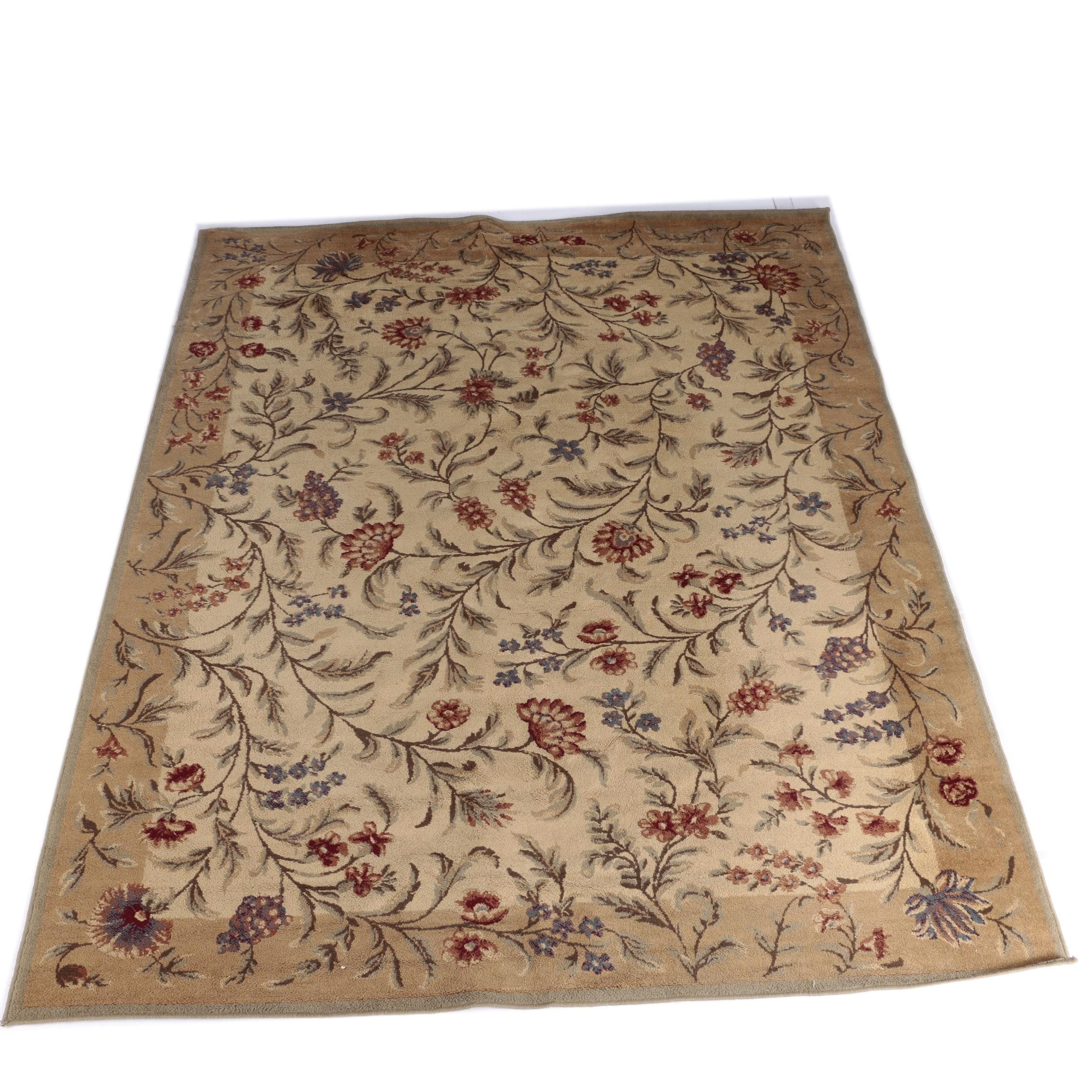 Machine Made Shaw Living Floral Area Rug