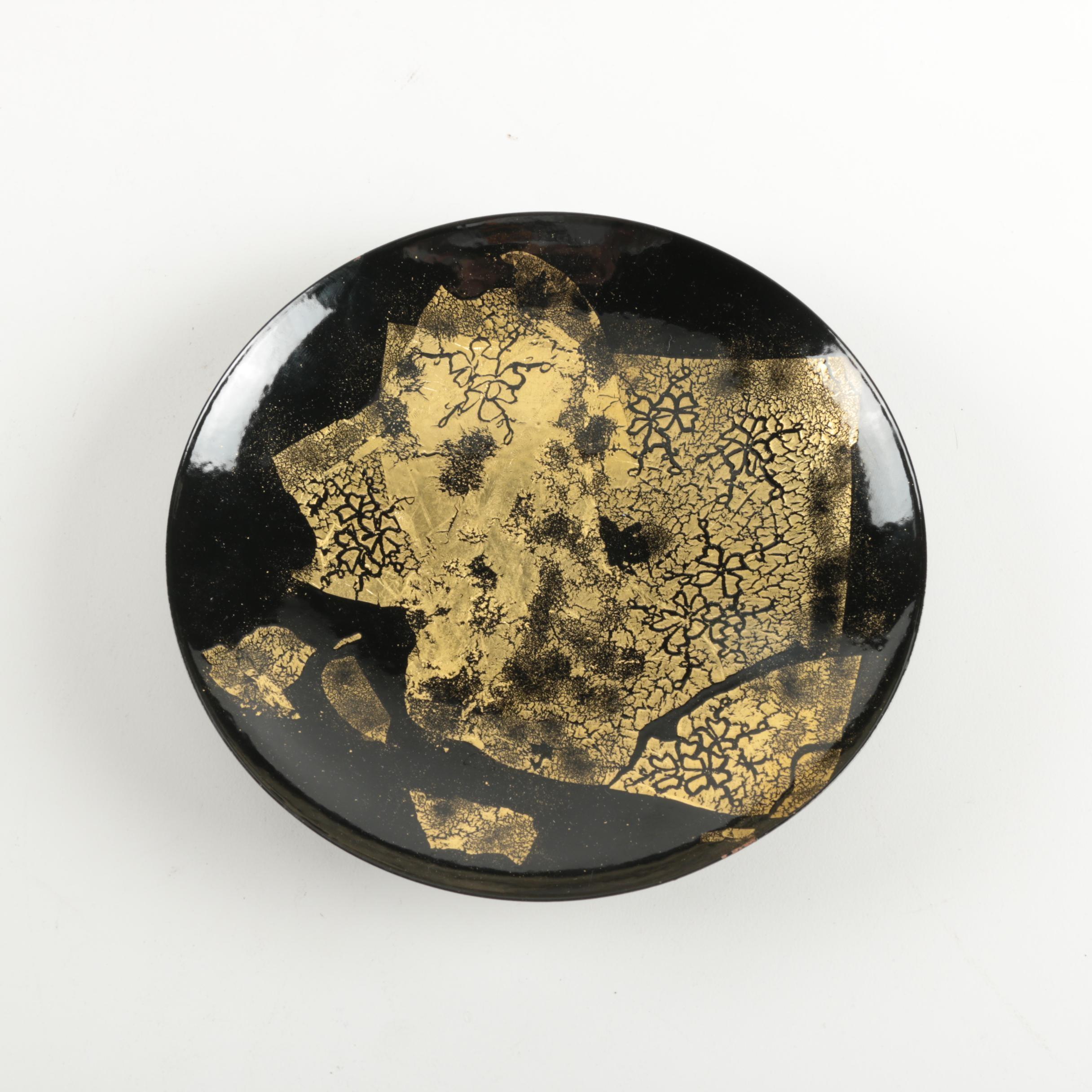 Black Decorative Metal Plate