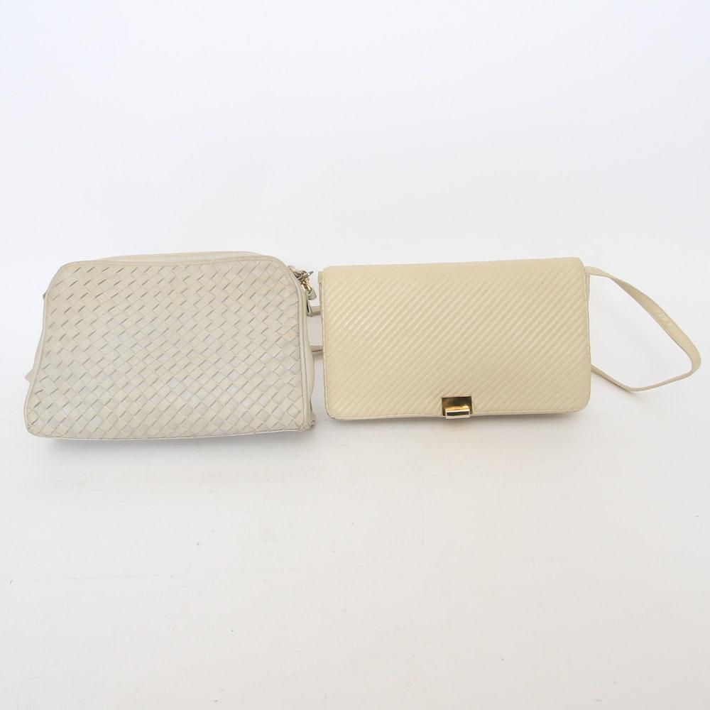 Pair of Vintage Morris Moskowitz Leather Handbags