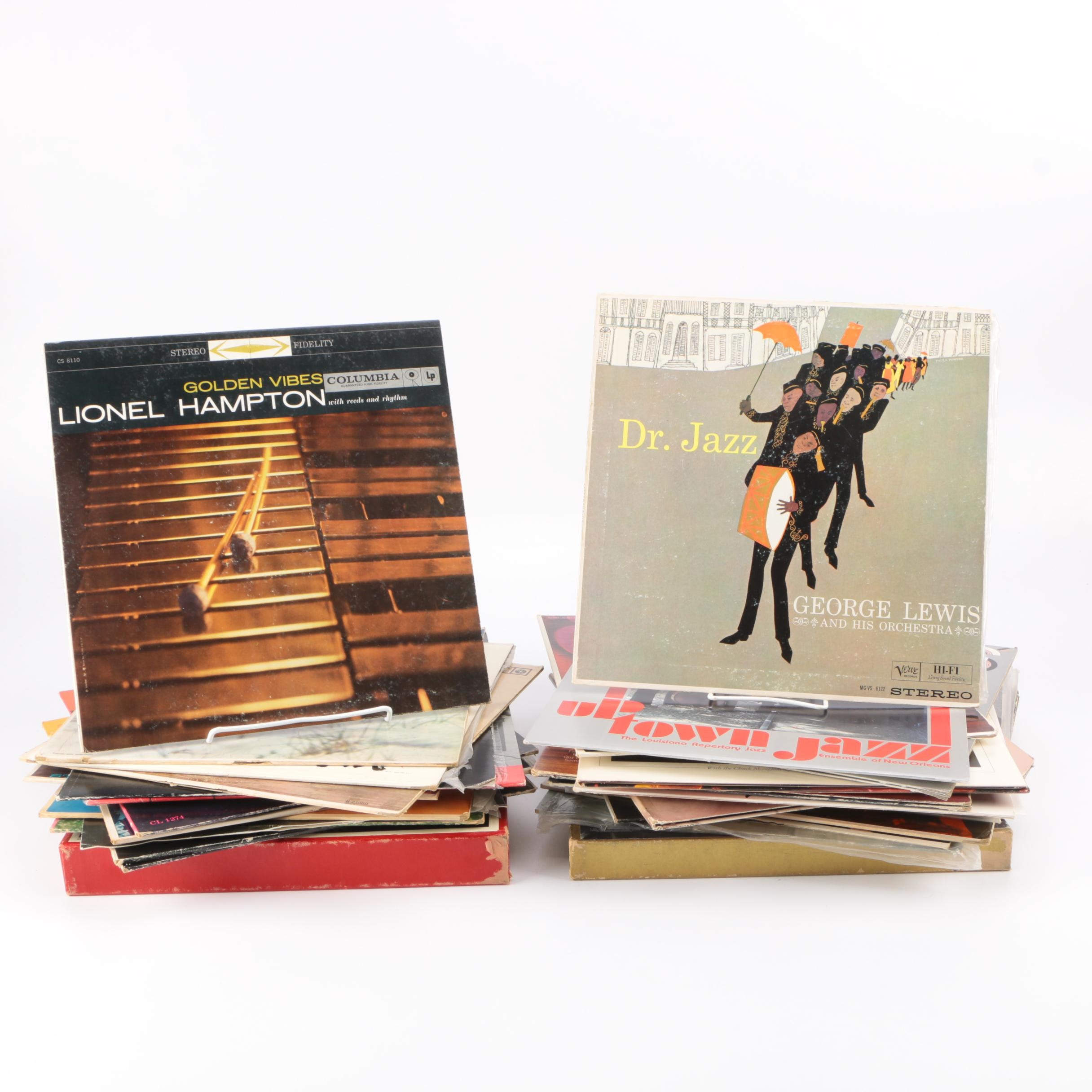 Nat King Cole and Other Vintage Jazz LPs