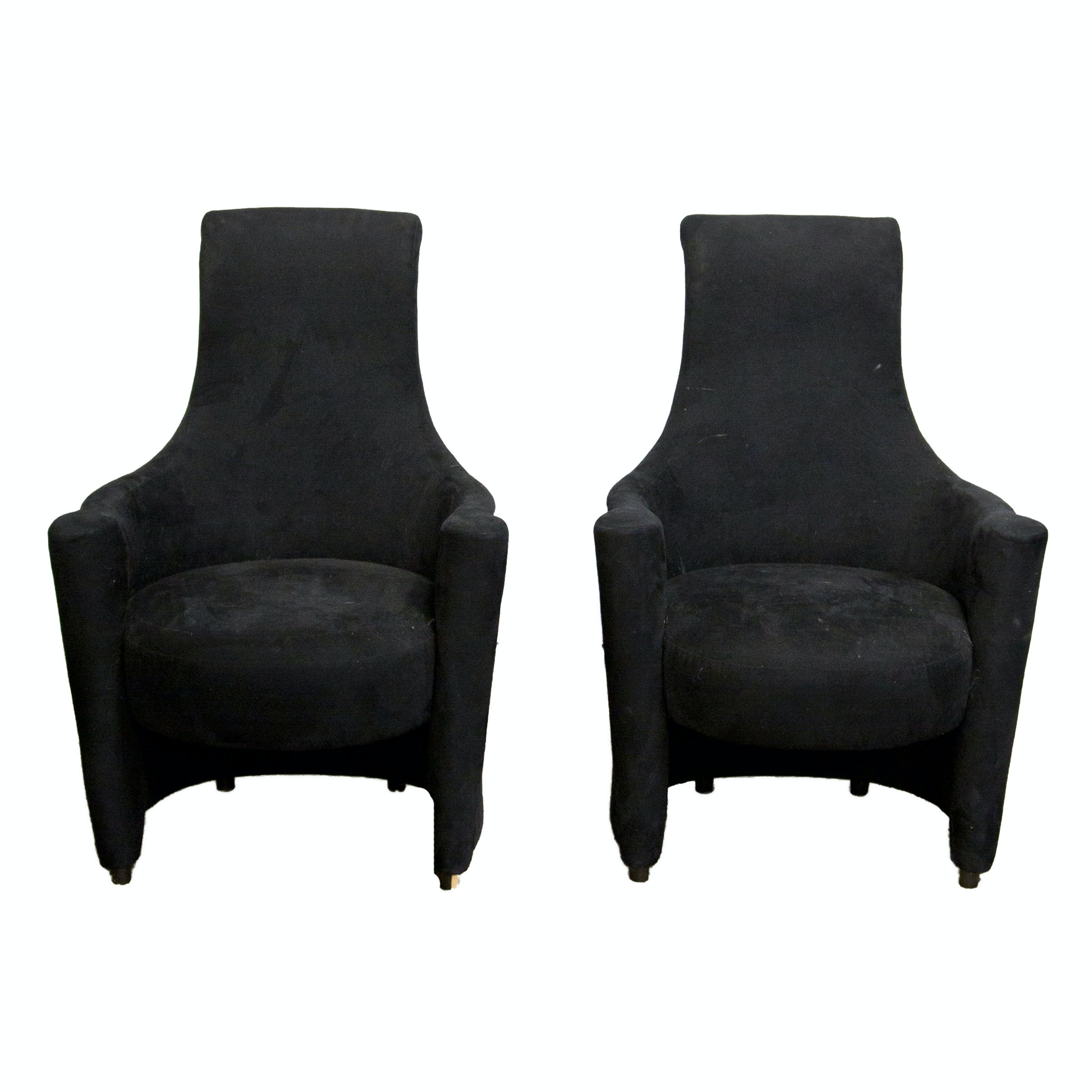 Hollywood Regency Style Armchairs by Weiman