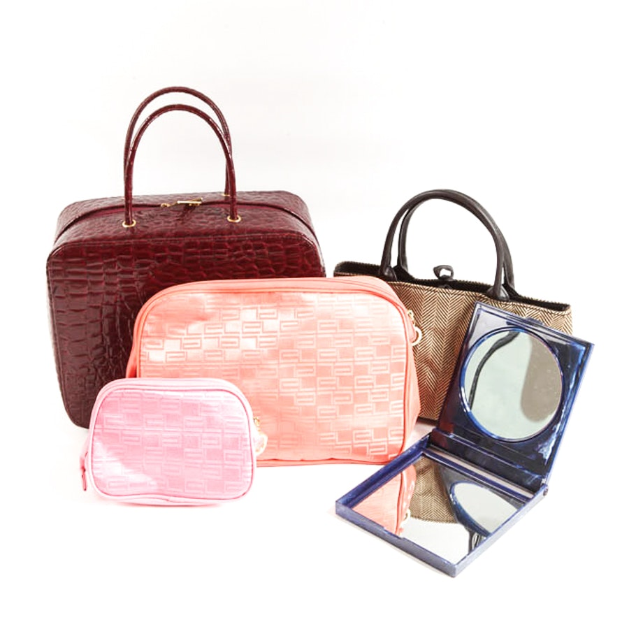 Estée Lauder Handbags and Mirror