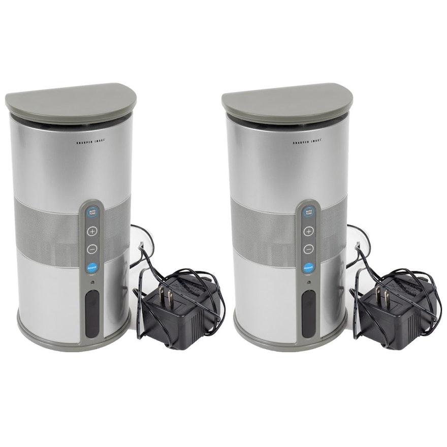 Sharper Image Indooroutdoor Wireless Mini Speakers Ebth