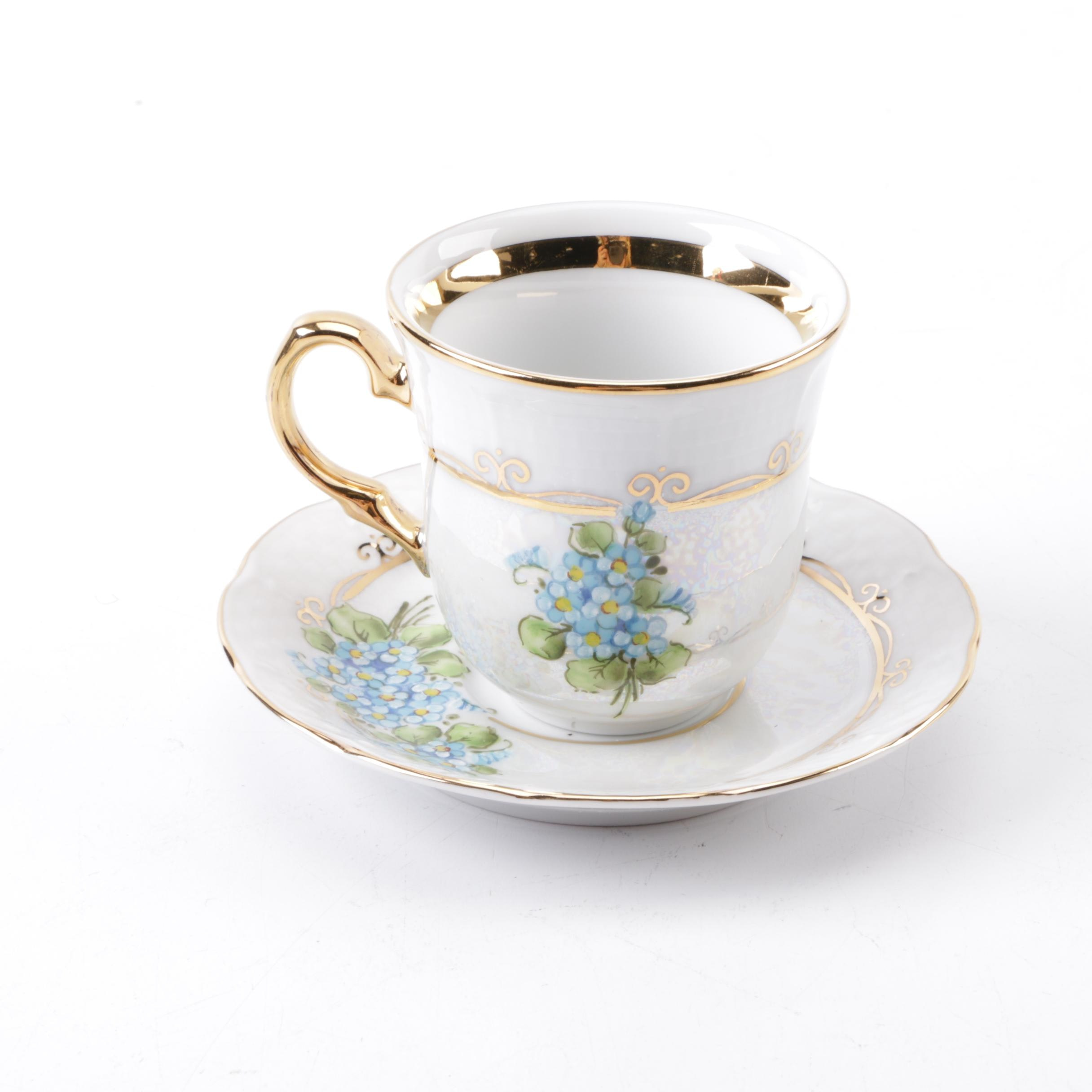 Vintage Thun Czech Republic Tea Cup