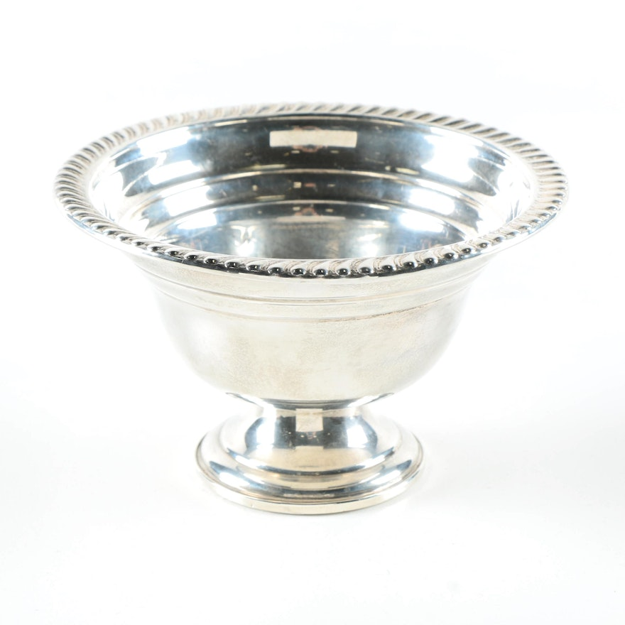 Atkins Weighted Sterling Silver Bowl