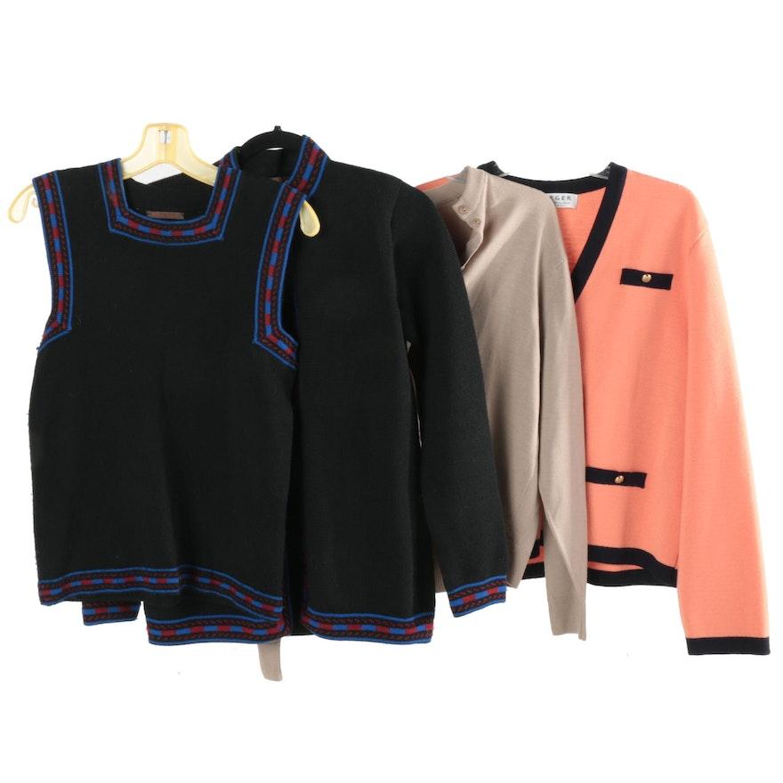 Women s Vintage Sweaters Including Yves Saint Laurent   EBTH e5751c999