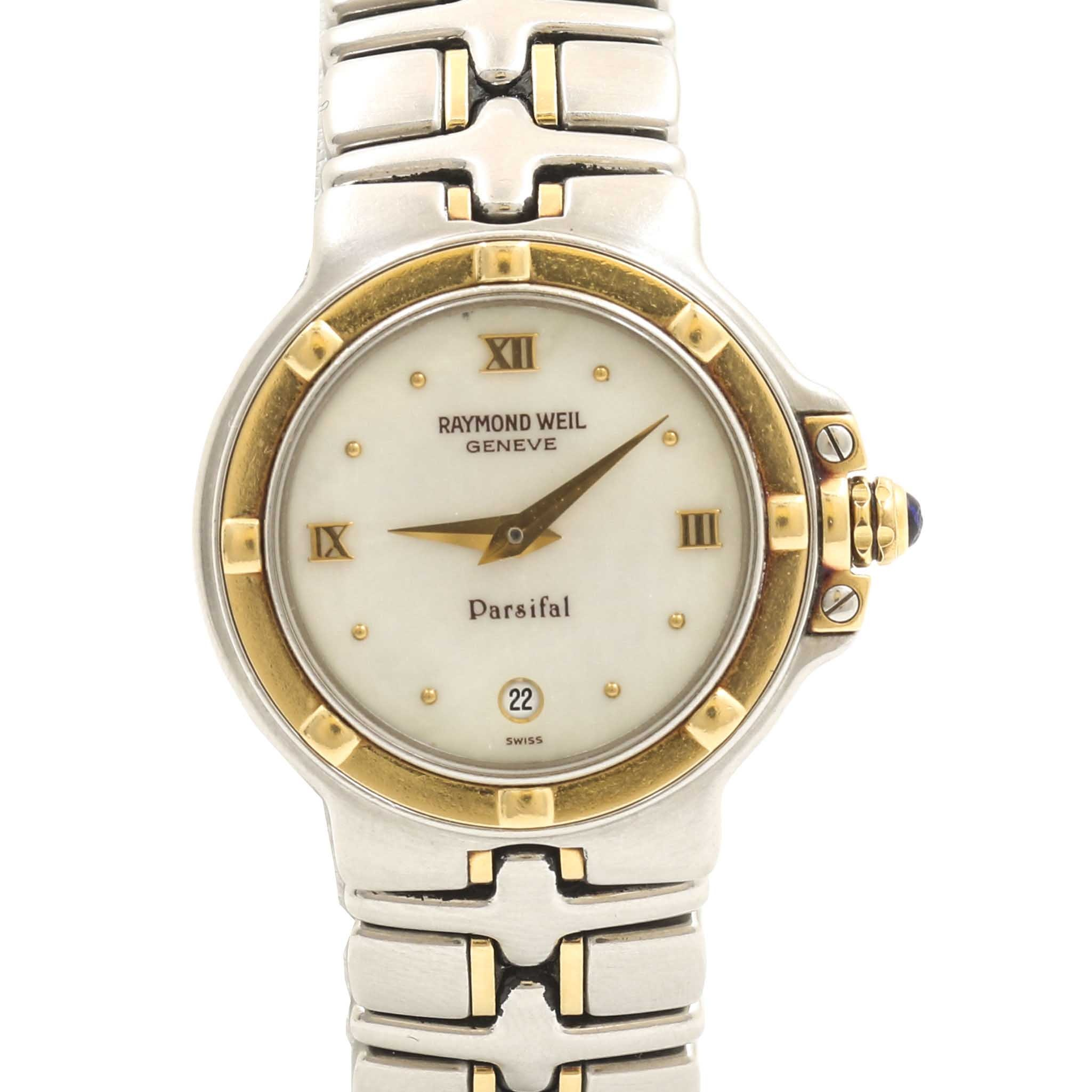 Raymond Weil Geneve Parsifal All Stainless Wristwatch