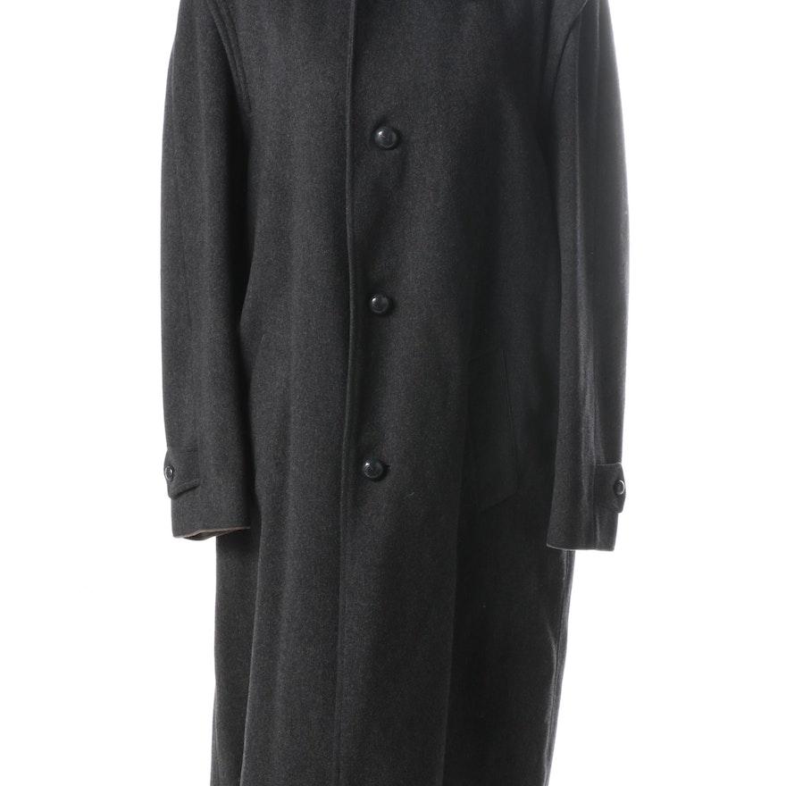 Winter Ebth Coat Grey Burberry Men's Loden wHqtxvP