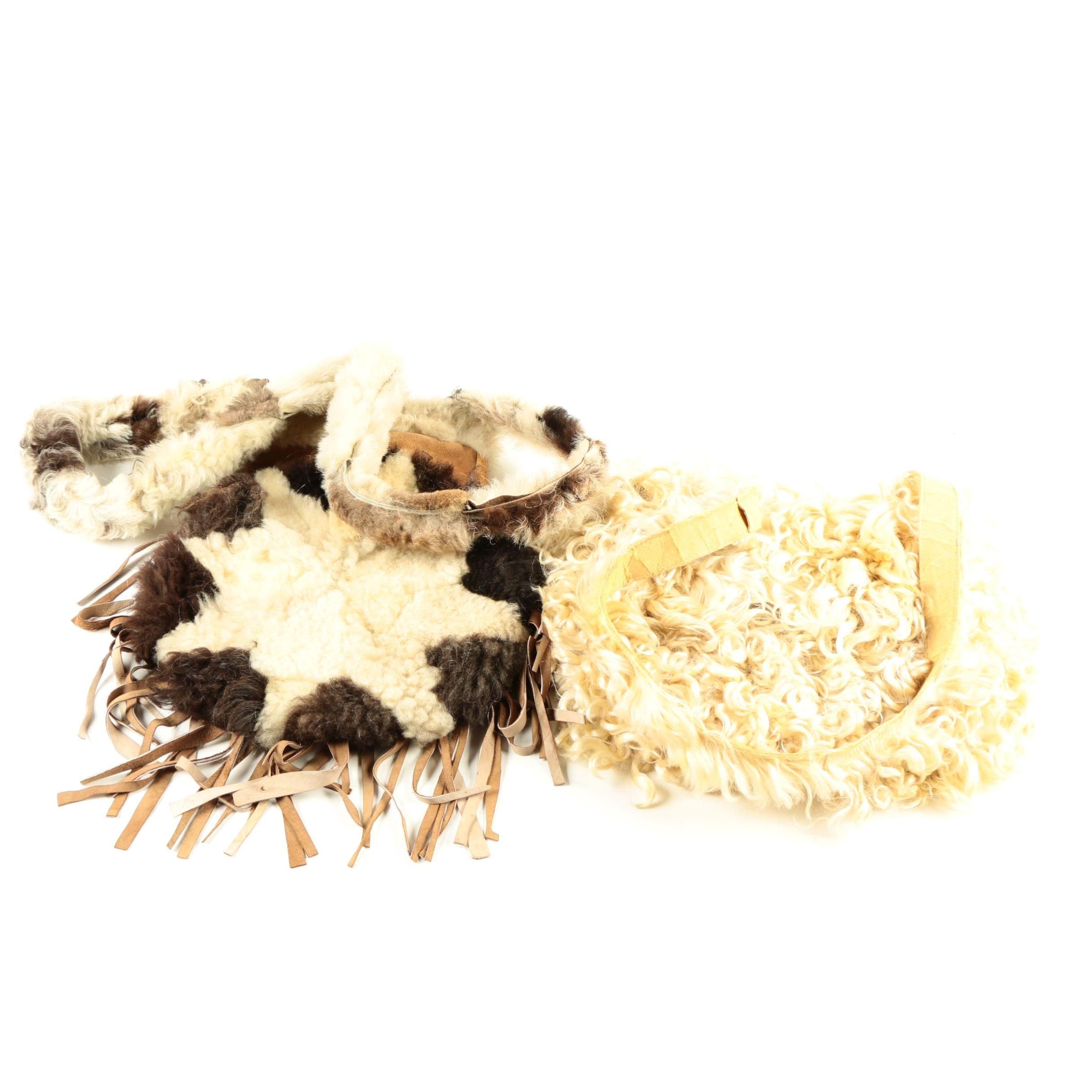 Vintage Shearling Handbags