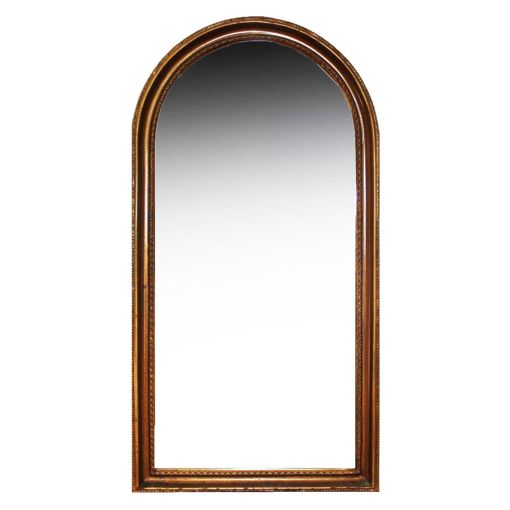 Arched Beveled Wall Mirror by Carolina Mirror Company