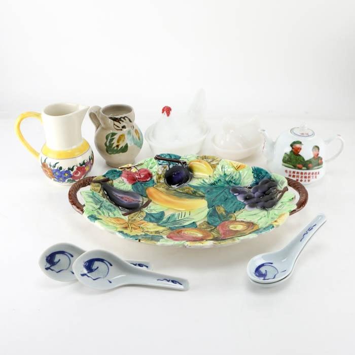 Vintage Ceramic and Glass Tableware