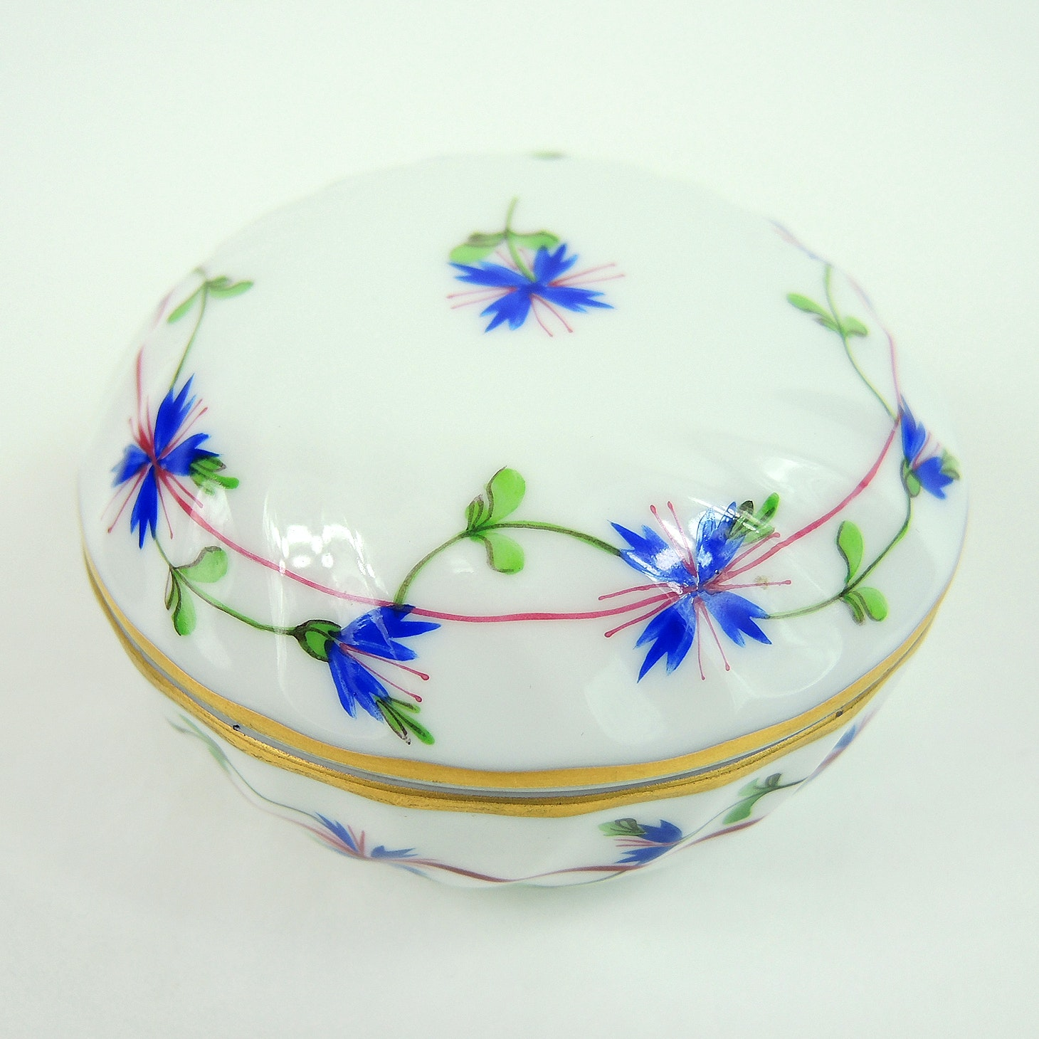 Herend Hand Painted Trinket Box