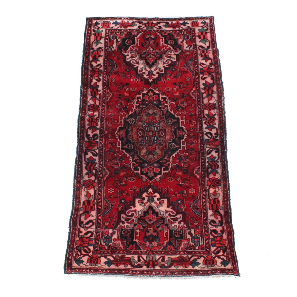 Semi-Antique Hand-Knotted North West Persian Area Rug