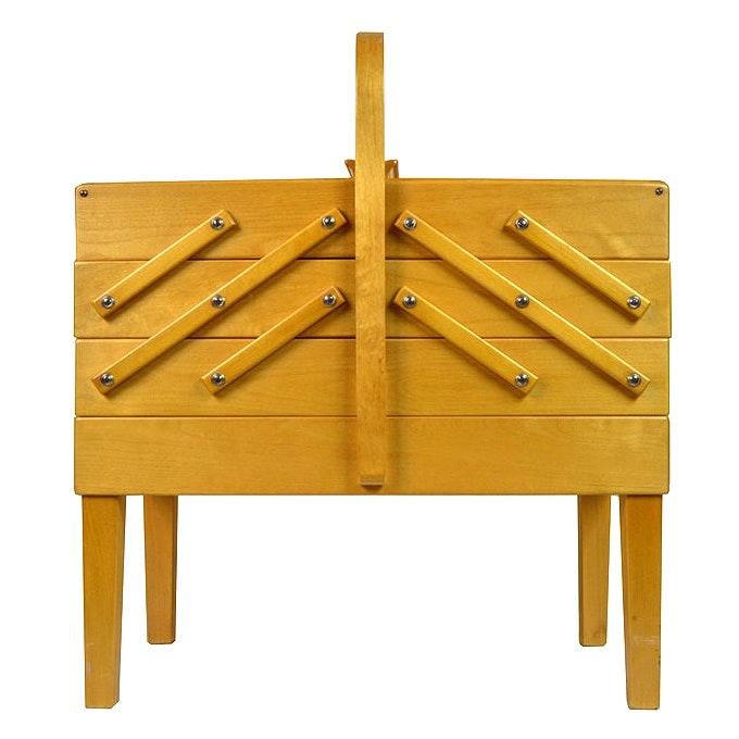 Strommen Bruk Hamar Vintage Sewing Cabinet