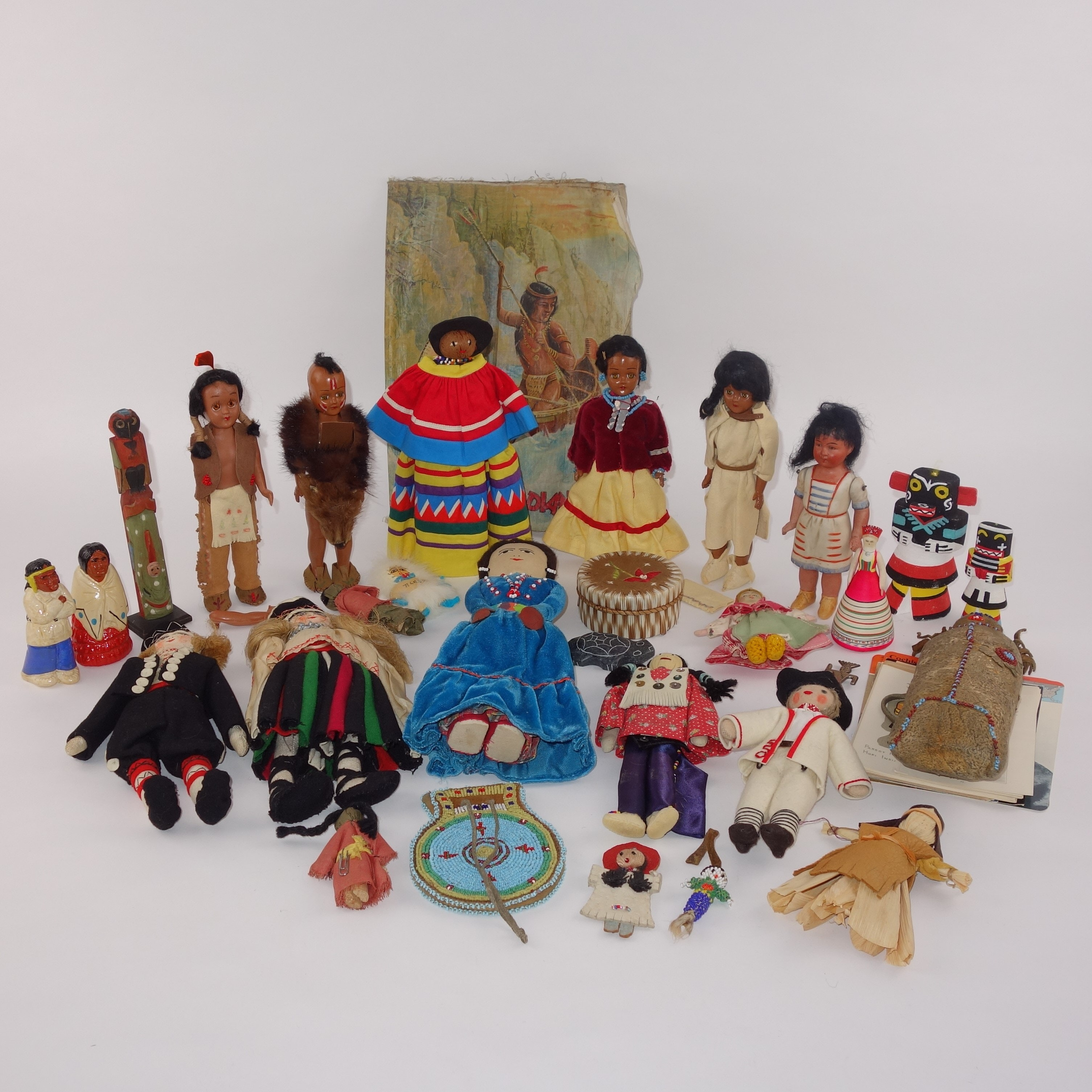 Antique and Vintage Hand Made Dolls of The World