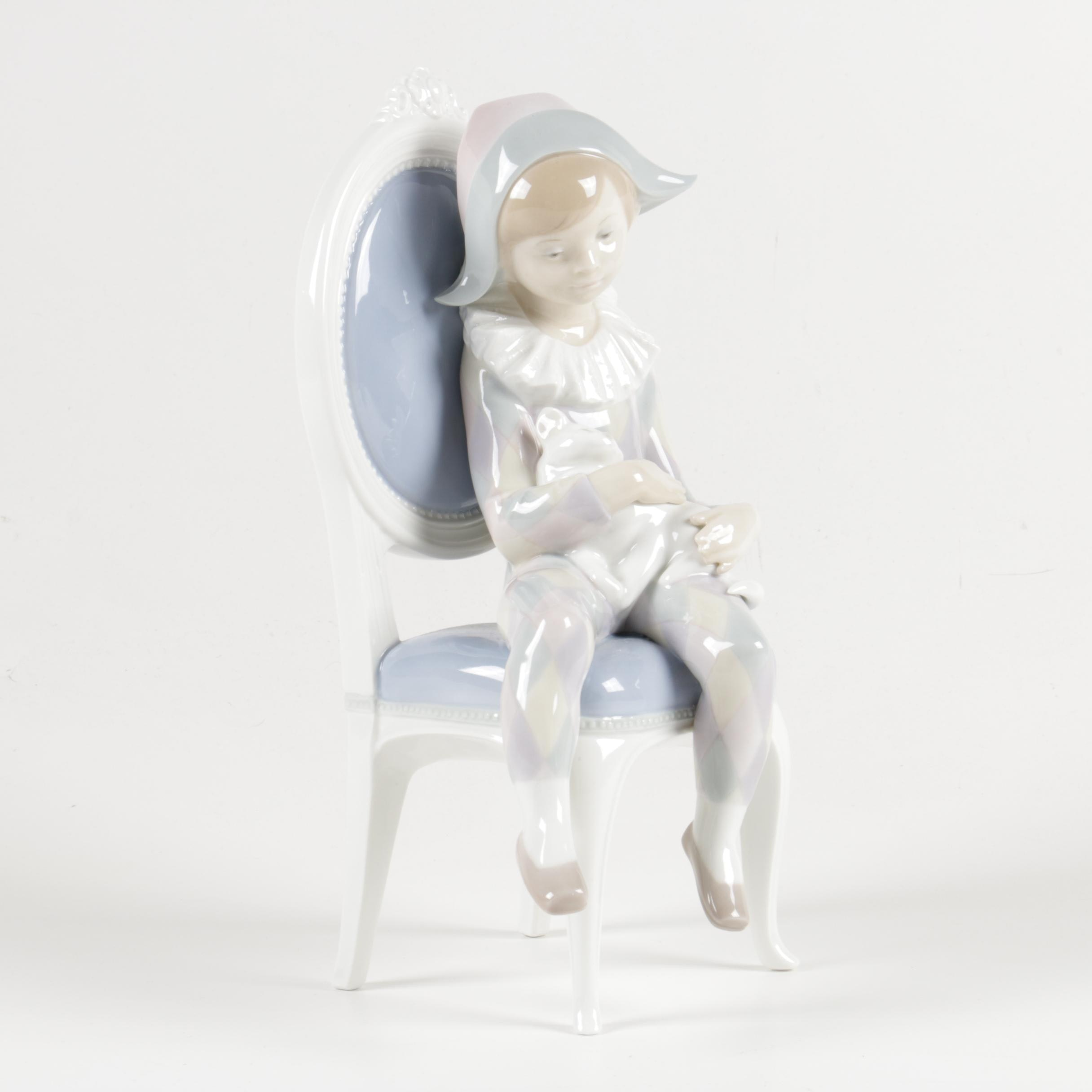 "Lladró ""Little Harlequin"" Figurine"