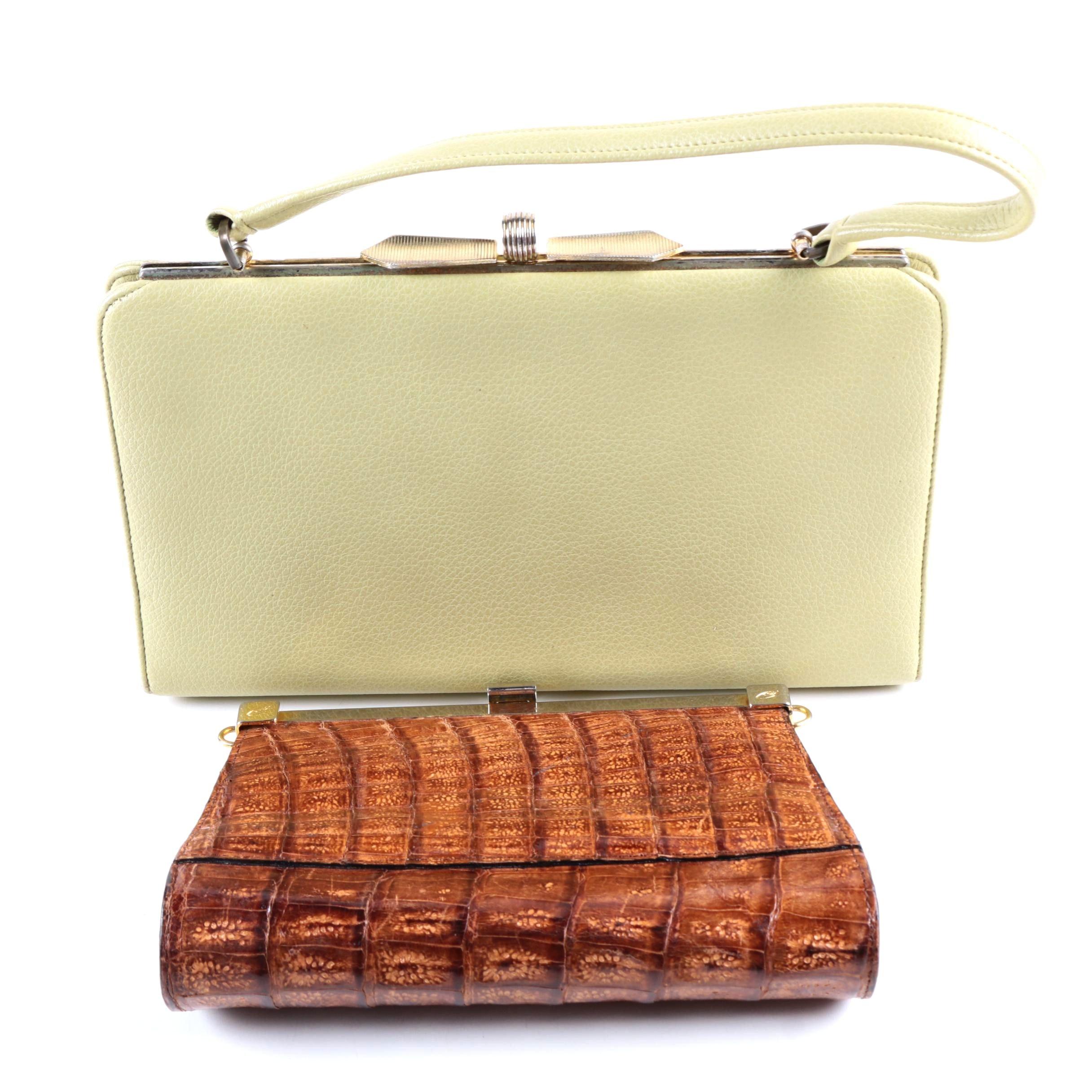 Vintage Handbags Including E Steve
