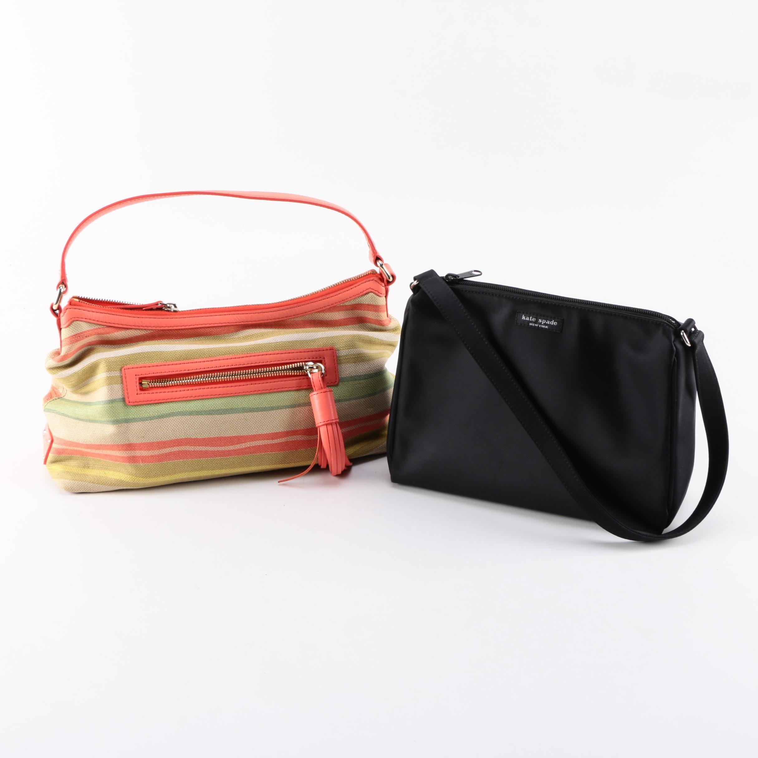 Kate Spade Textile Handbags
