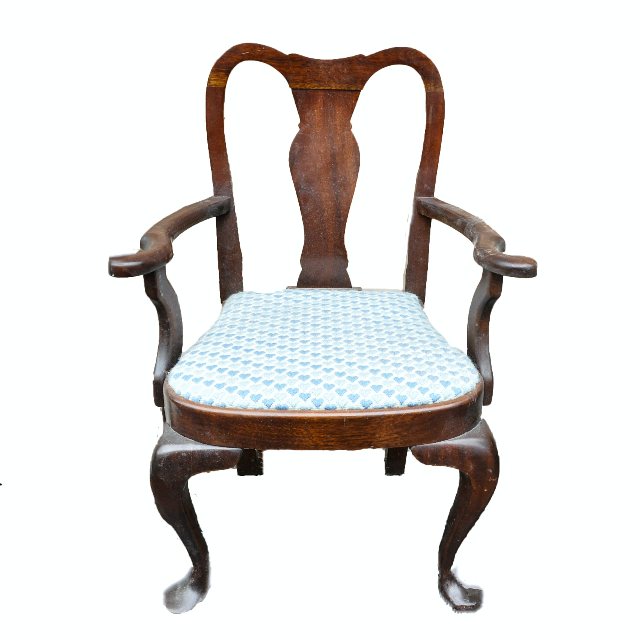 Vintage Chippendale Style Child's Chair