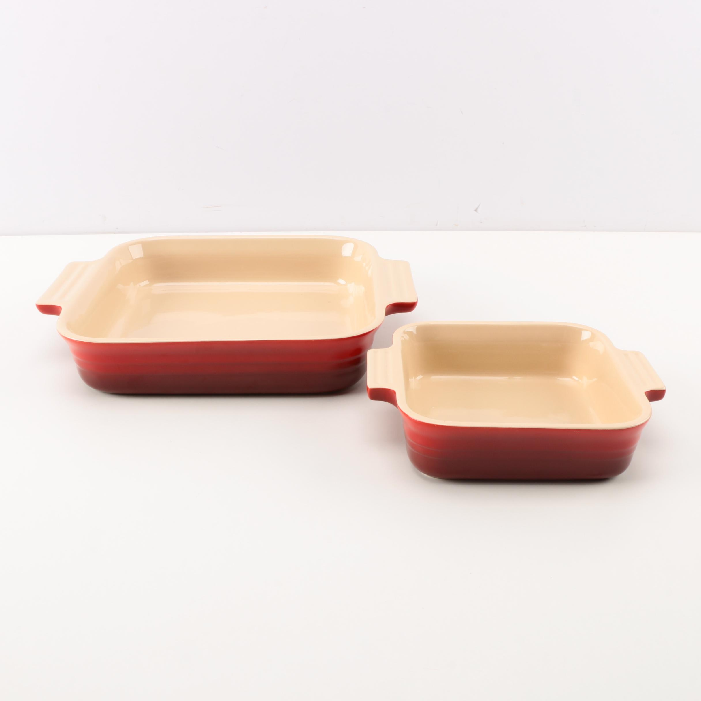 Le Creuset Stoneware Baking Dishes