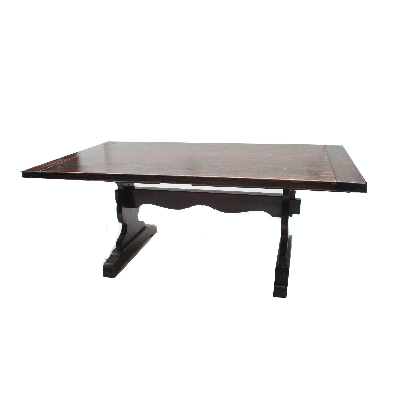 Ethan Allen Farmhouse Style Dining Table