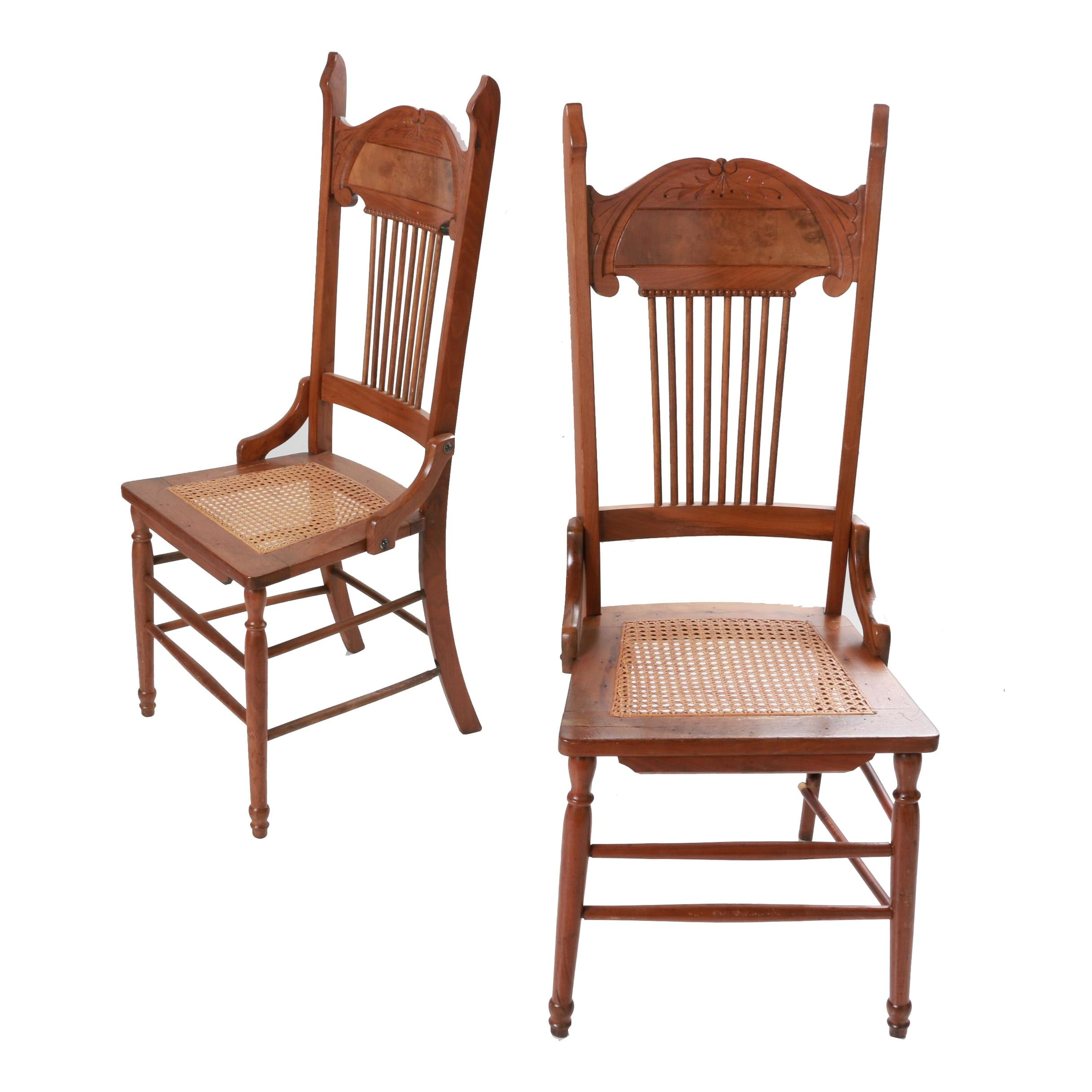 Caned Seat Chairs
