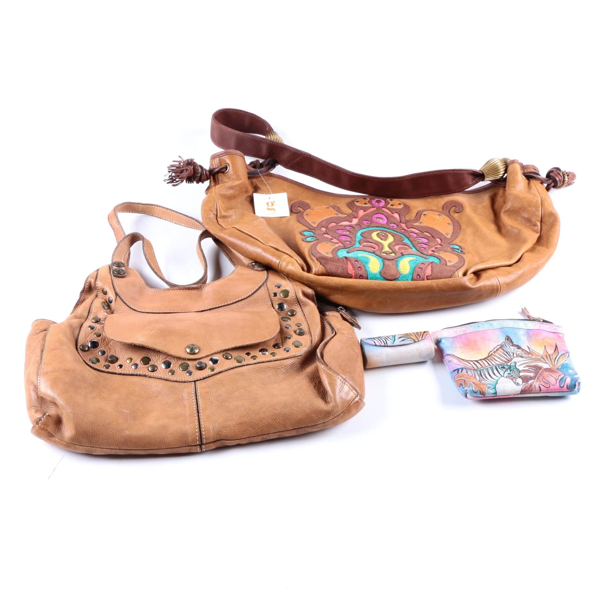 Collection of Three Women's Handbags