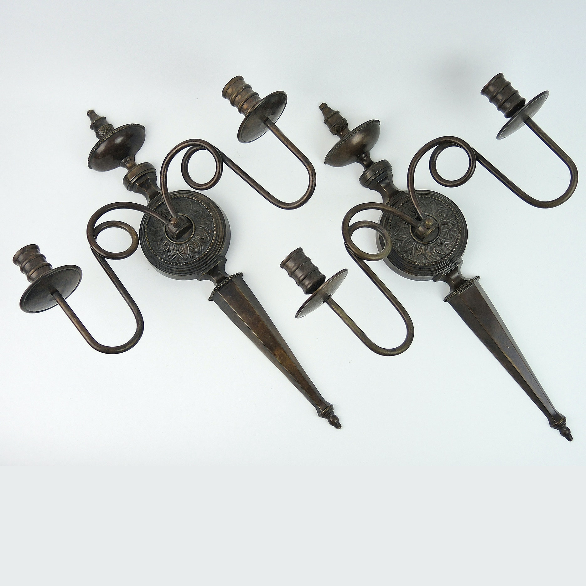 Decorative Metal Wall Sconce Candleholders