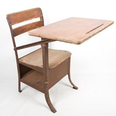 Vintage Student's Desk