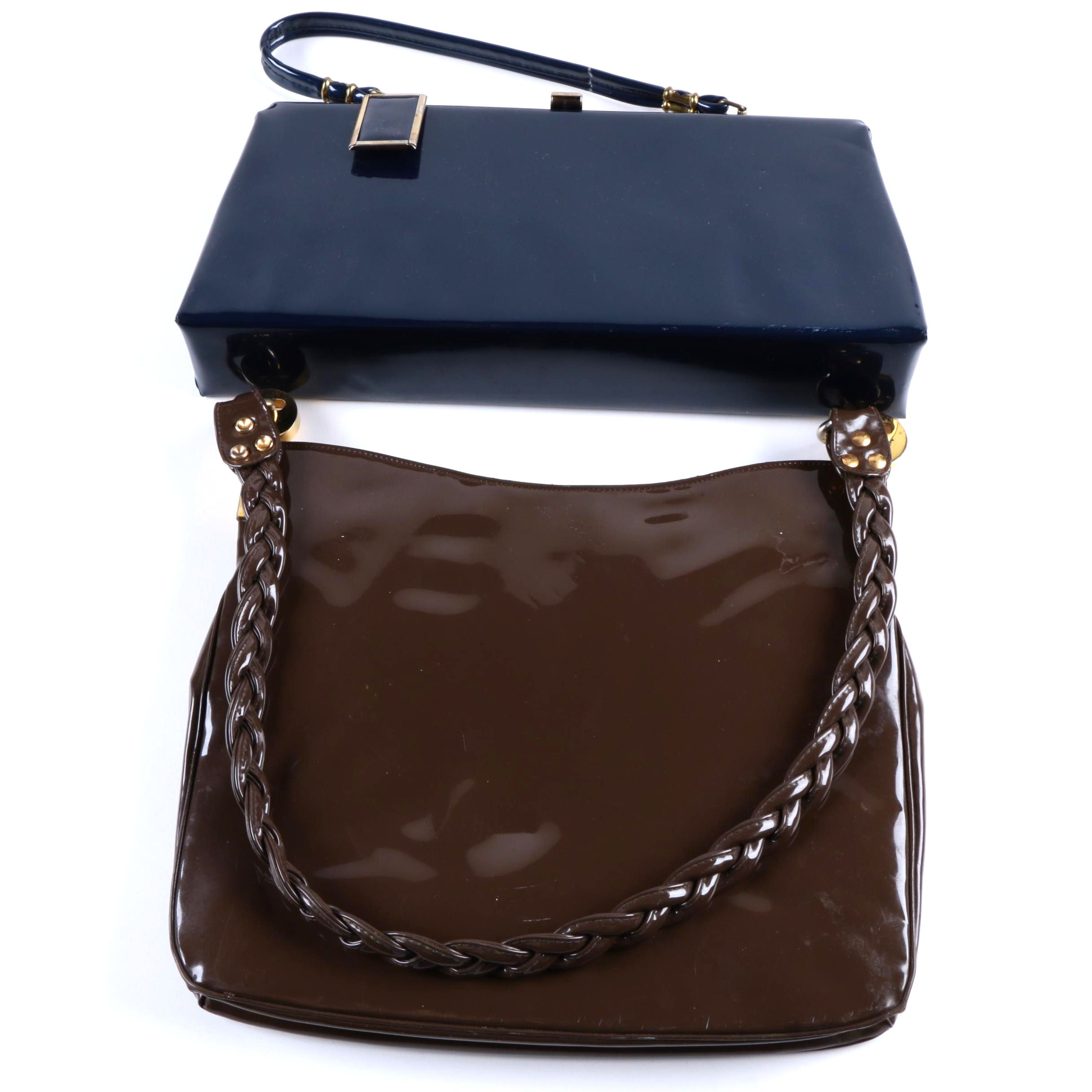 Vintage Patent Leather Handbags