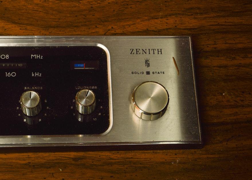 Vintage Zenith Allegro Stereo Console EBTH