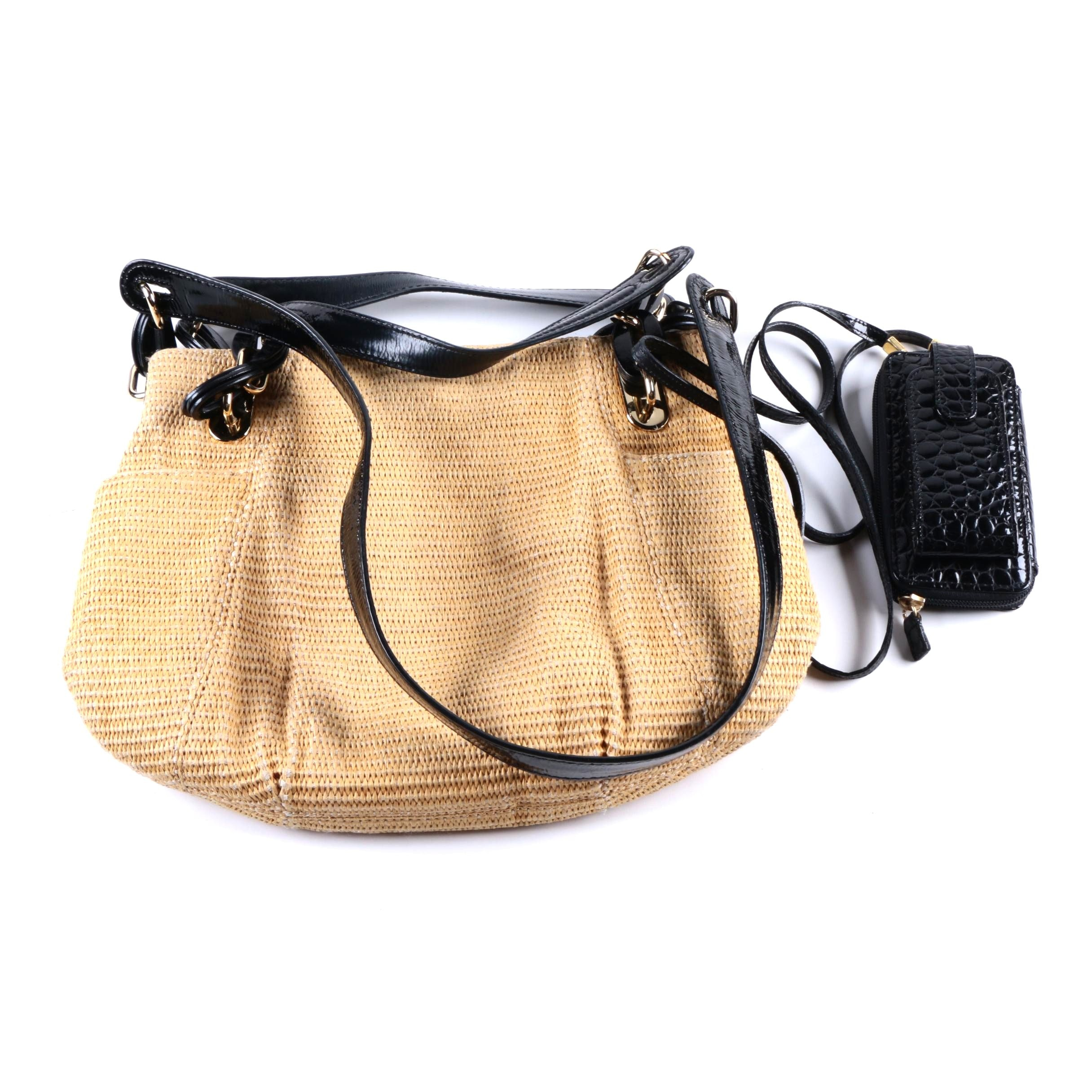 Michael Michael Kors Woven Tote with Wallet