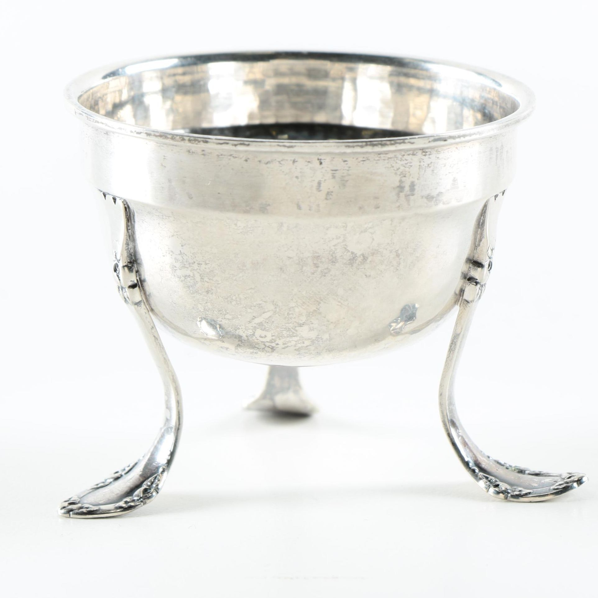 Vintage Christian F. Heise Danish 800 Silver Small Three-Legged Bowl