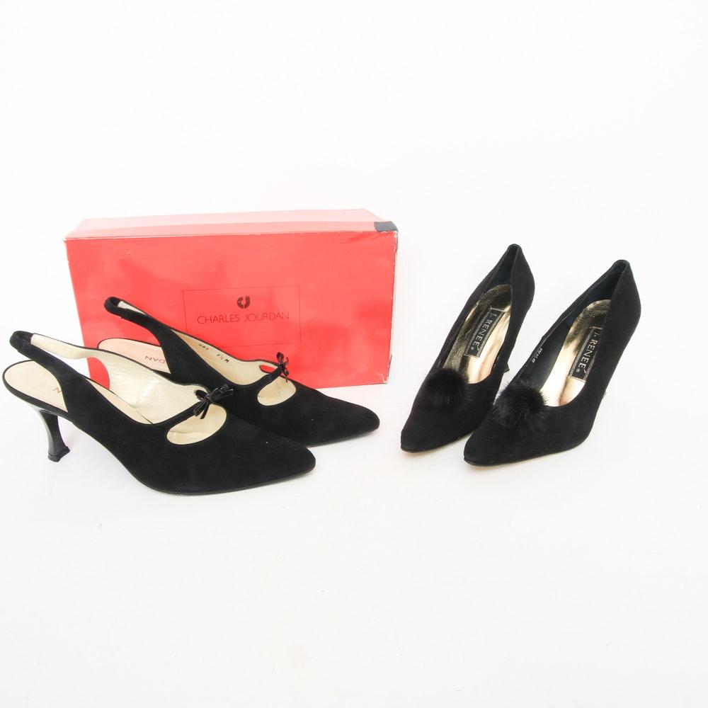 Charles Jourdan and J. Renee Shoes