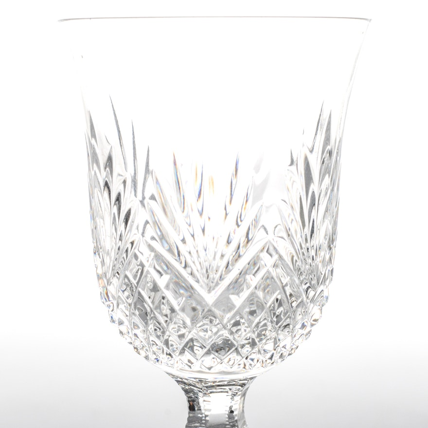 Wedgwood majesty crystal wine glass crystal ebth - Wedgwood crystal wine glasses ...