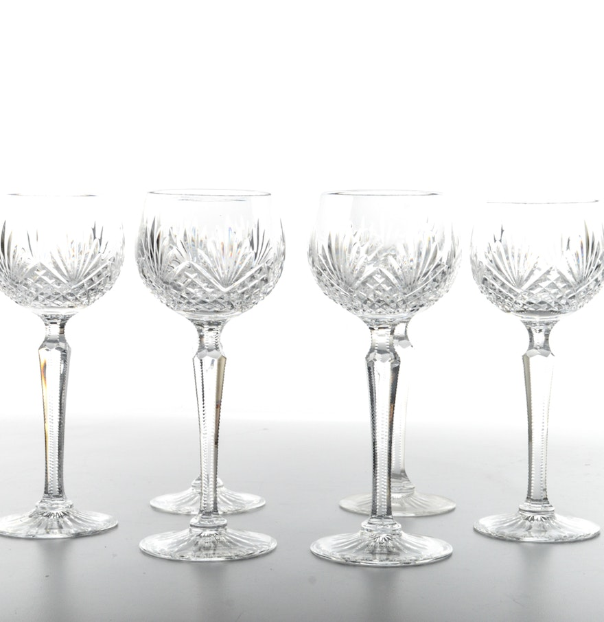 Wedgwood majesty crystal hock wine glasses ebth - Wedgwood crystal wine glasses ...