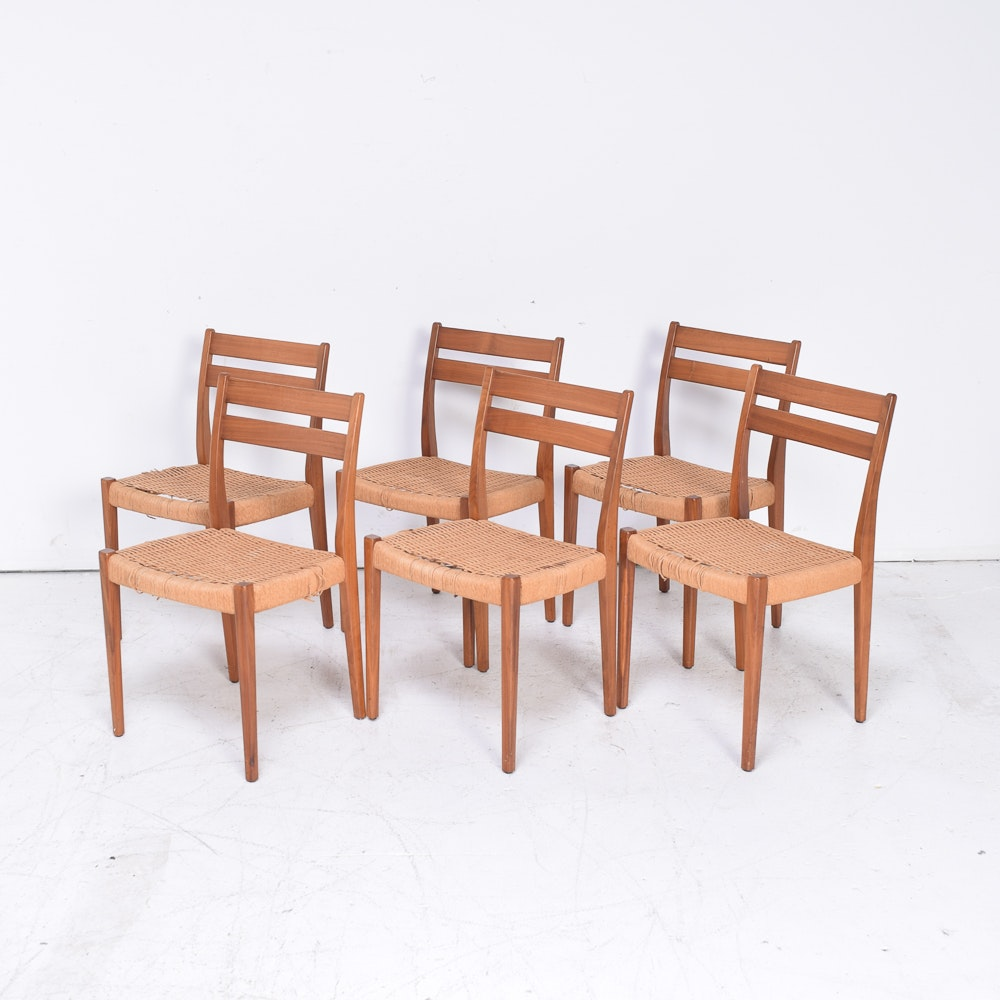 Danish Modern Teak Chairs by Svegards