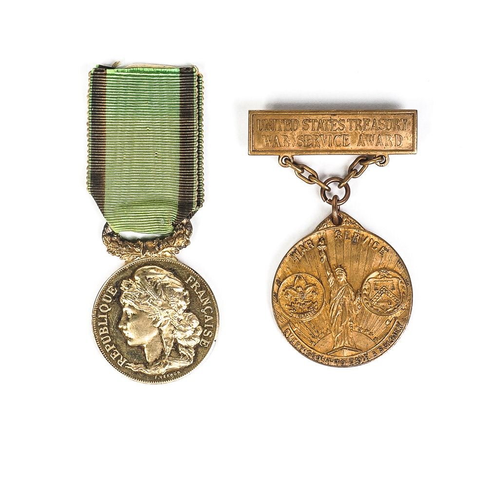Two Vintage Medals