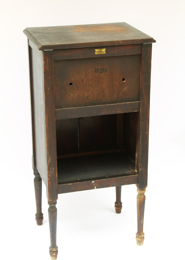 Angelus Furniture Manufacturing Company Wooden Phonograph