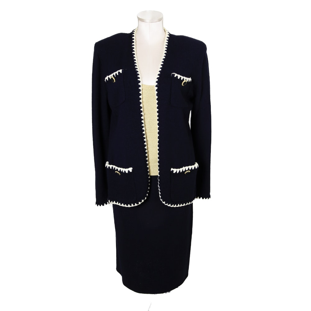 St. John Knit by Marie Gray Skirt Suit
