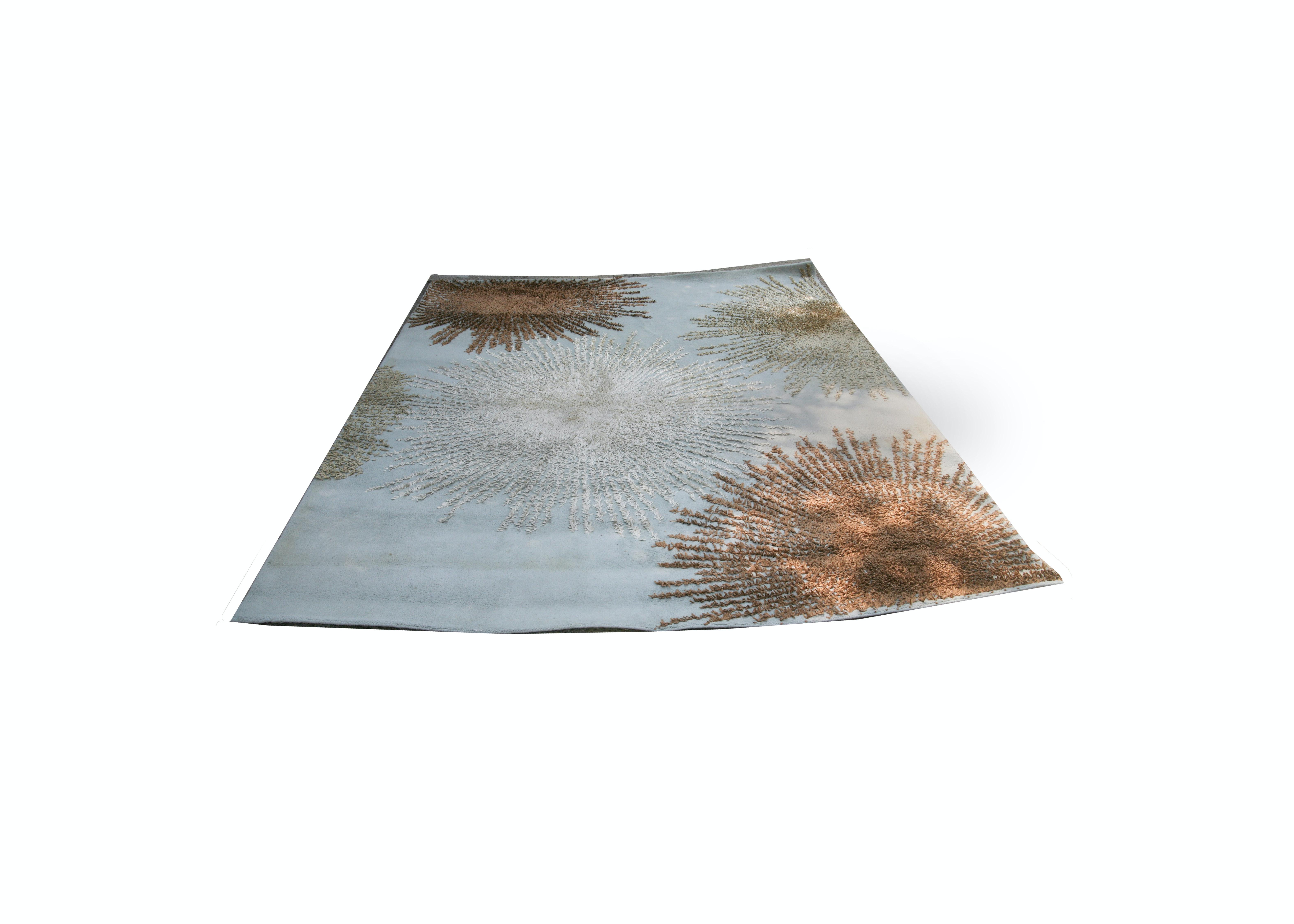 Safavieh Contemporary Sunburst Wool Area Rug