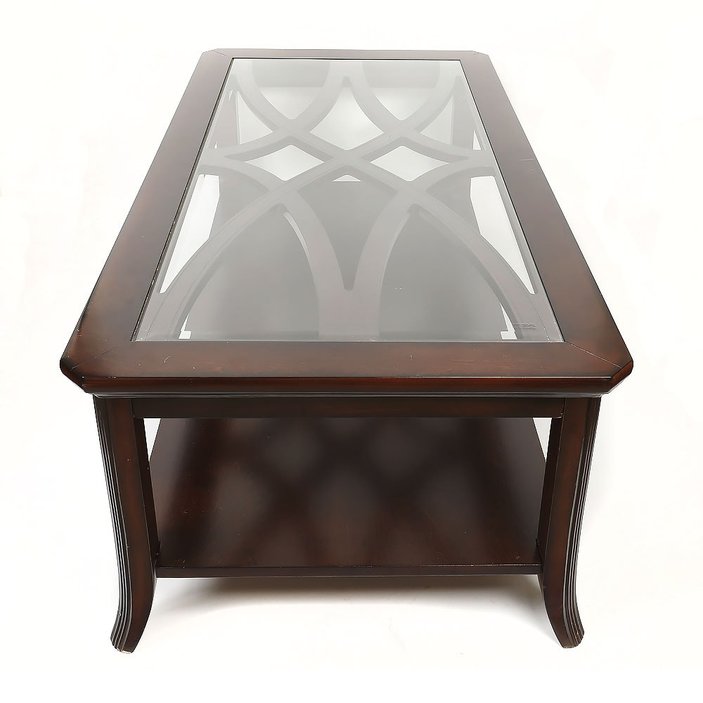 Espresso Stained Coffee Table by Coaster Furniture